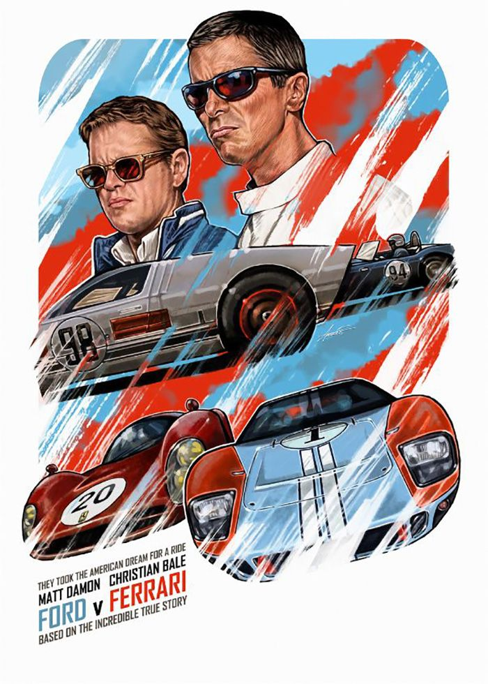 Ford Vs Ferrari Such A Good Movie The Racing And Actors Were