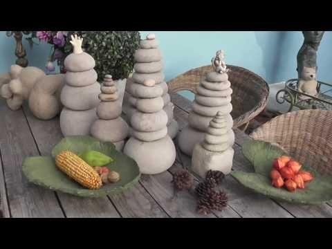 Beton giessen, DIY, Gartenstehlen, Gartendeko, Skulptur - YouTube                                                                                                                                                                                 Mehr