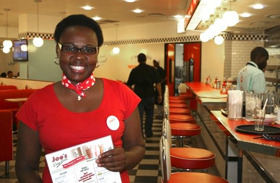 Joe's Easy Diner, Canal Walk - South Africa