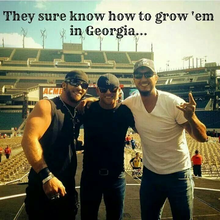 Mmmm Georgia Boys!Triple Trouble and the one on the far right is most defiantly The Ring Leader!!!!!!