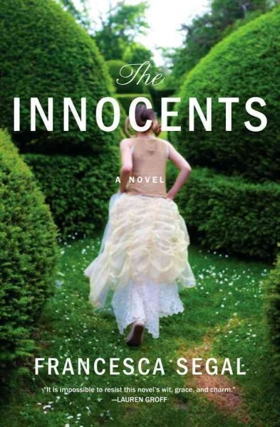 The innocents by Francesca Segal. As he prepares for his wedding to Rachel Gilbert, the girl he has been with for twelve years, Adam Newman begins to question everything when Rachel's fiercely independent and beautiful young cousin moves home from New York.