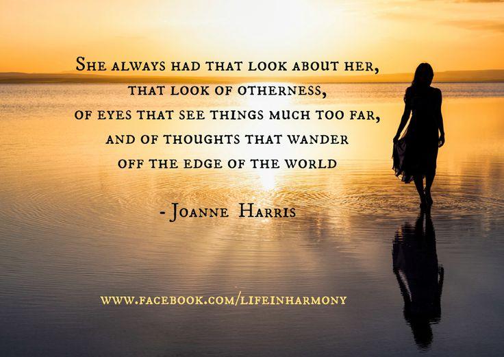 Joanne Harris: The edge of the world