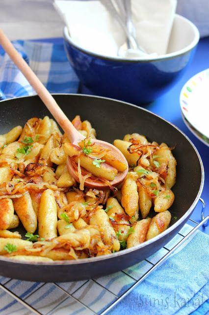 Sünis kanál: Krumplis nudli hagymásan
