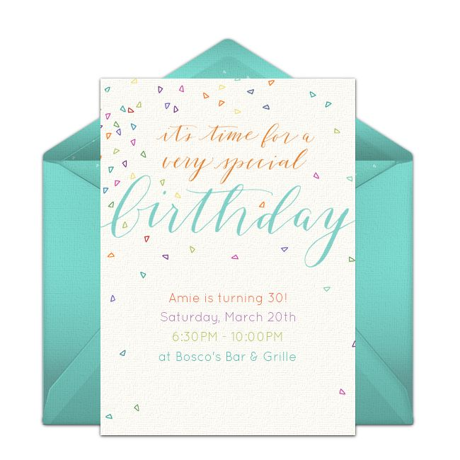 Best 25 Online invitations ideas – Email Party Invitation