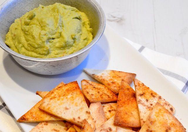 Avocado Hummus - Uit Paulines Keuken