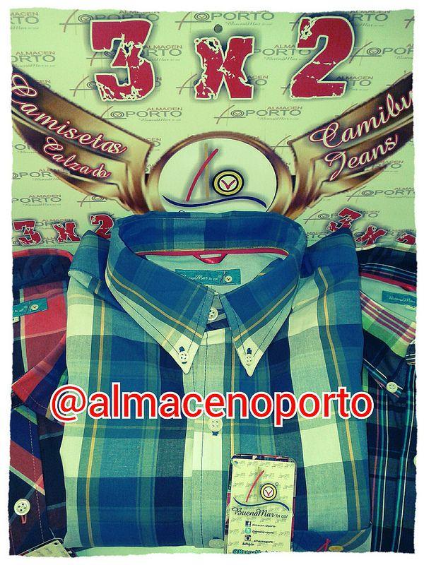 BuenaMar 3X2 Promociones @almacenoporto Camisas y camisestas #BuenaMarJeans  #3X2 En Cartago
