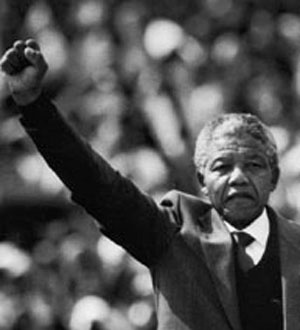 Nelson Mandela - sentenced 27 years in prison - elected President of South Africa - modern day Joseph story of forgiveness and humility ~