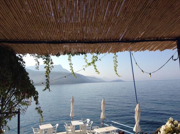 Vesuvios cafe, Agios Nikolaos near Stoupa, Greece