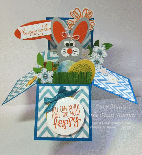 123 best Stampin Up Card in a Box images – Boxed Easter Cards