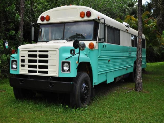 1981 Converted School Bus For Sale