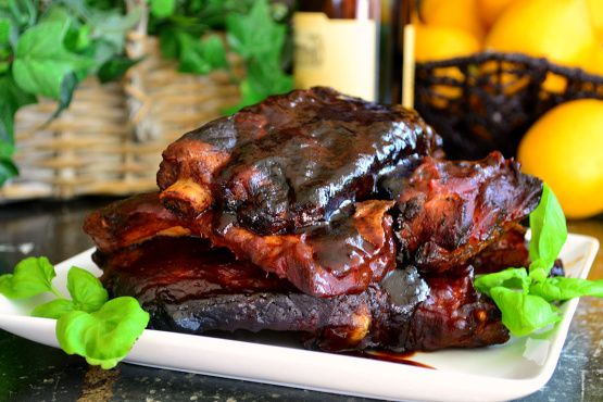 Crock Pot Barbecued BBQ Ribs Recipe - Food.com