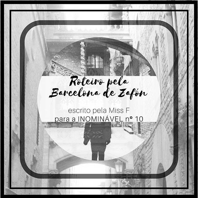Na #revistainominavel no. 10 a Miss F oferece-nos um roteiro turístico pela Barcelona de Carlos Ruiz Zafón, uma cidade cheia de contrastes.  https://buff.ly/2hYq9zg  #revistadigital #revistaonline #revista #revistaportuguesa #portuguesemagazine #portugal #bookstagram #instadaily #viagens #barcelona #passear #férias #roteiro #zafon #carlosruizzafon  [link in bio]