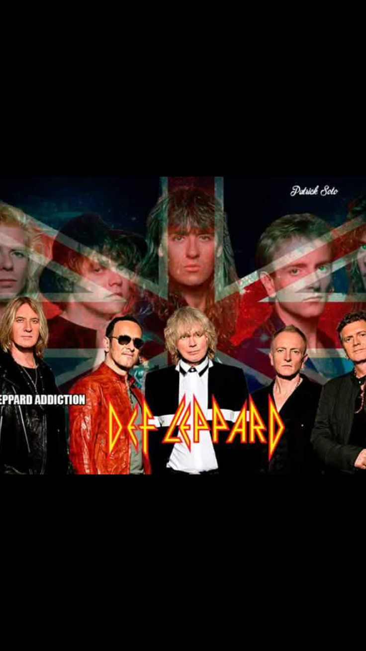 DEF LEPPARD THE BEST ❤️❤️ Upload RockerHelen