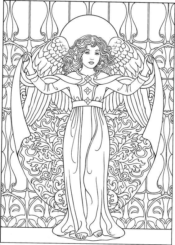 Pin von doki auf Engel Malvorlagen Zeichnungen