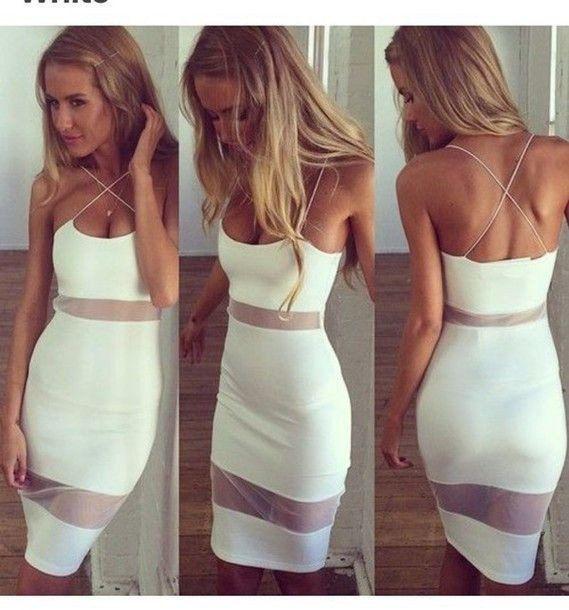 [ $21.00 ] Sexy Backless Bodycon Dress