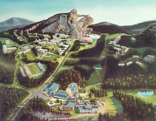 Мемориал Неистового Коня. Crazy Horse Memorial - Andrey