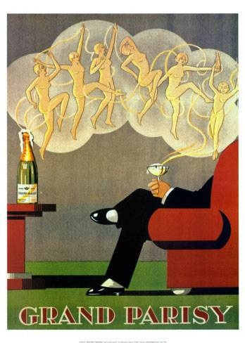 Grand Parisy | Retro advertising | Vintage poster #Affiches #Retro #Vintage #Ads #Adverts #SXX #deFharo #Publicidad #Posters
