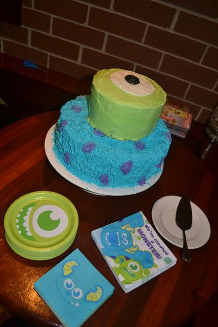 """Photo 1 of 27: Monster's Inc / Baby Shower/Sip & See """"Monster's Inc Baby Shower"""" 