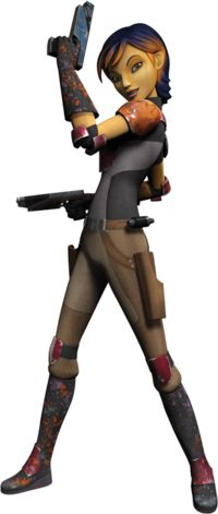 Sabine Wren: Personality:  Artistic, smart, sassy, tomboyish, independent, strong, defiant, protective, opinionated, compassionate