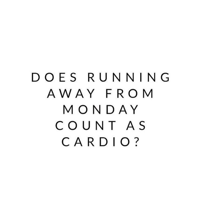 Monday Cardio