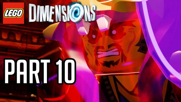 LEGO Dimensions Walkthrough Part 10 - MASTER CHEN BOSS!! (Gameplay PS4/X...