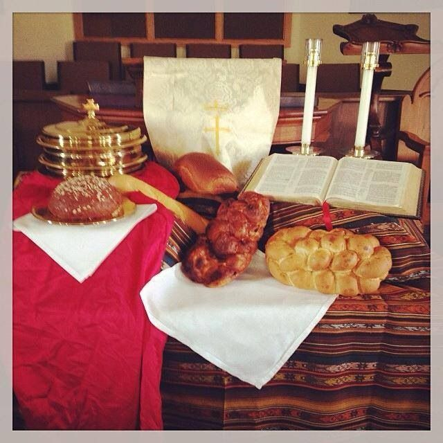 1000 images about world communion sunday on pinterest for Altar decoration for first holy communion