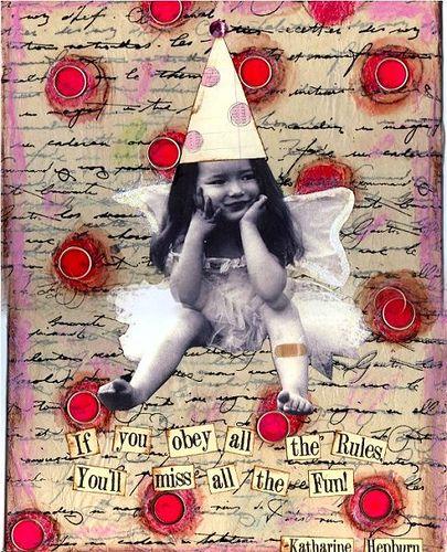 Canvas Collage by fleamarketstudio, via Flickr
