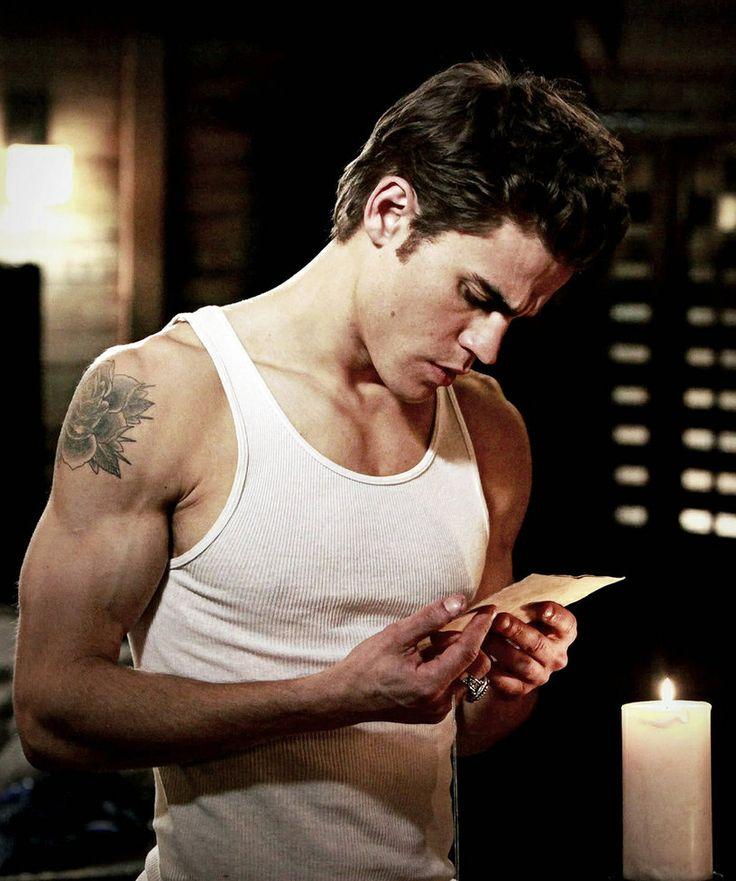Stefan Vampire Diaries Body