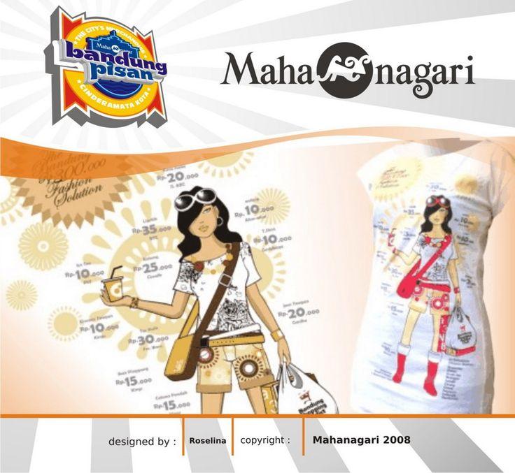"""""""Bandung Fashion"""" copyrights Mahanagari 2008"""