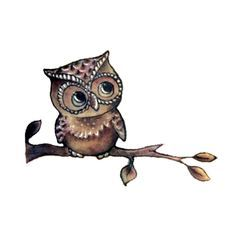 The owl symbolizes wisdom, intelligence, and mystery. How could you resist those…