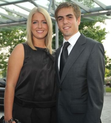 Phillipp and Claudia Lahm