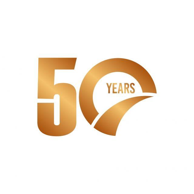 50 Anniversary Years 50th Design Birthday Year Background Celebration Logo Happy Wedding Banner Event 50 Years Anniversary Anniversary Banner Year Anniversary