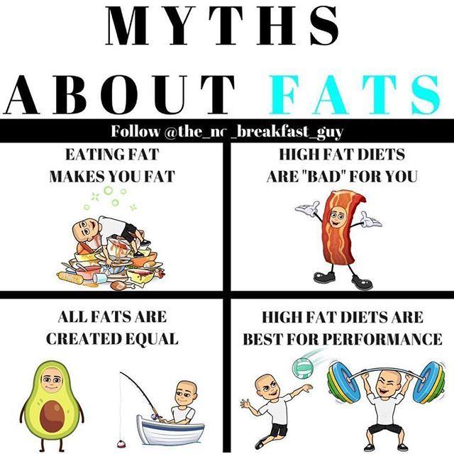 high fat diet myths
