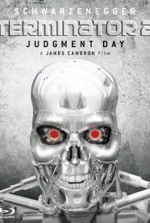 """Terminator 2: Judgement Day.""  The cyborg who once tried to kill Sarah Connor is dead, and another T-101 must now protect her teenage son, John Connor, from an even more powerful and advanced Terminator, the T-1000."