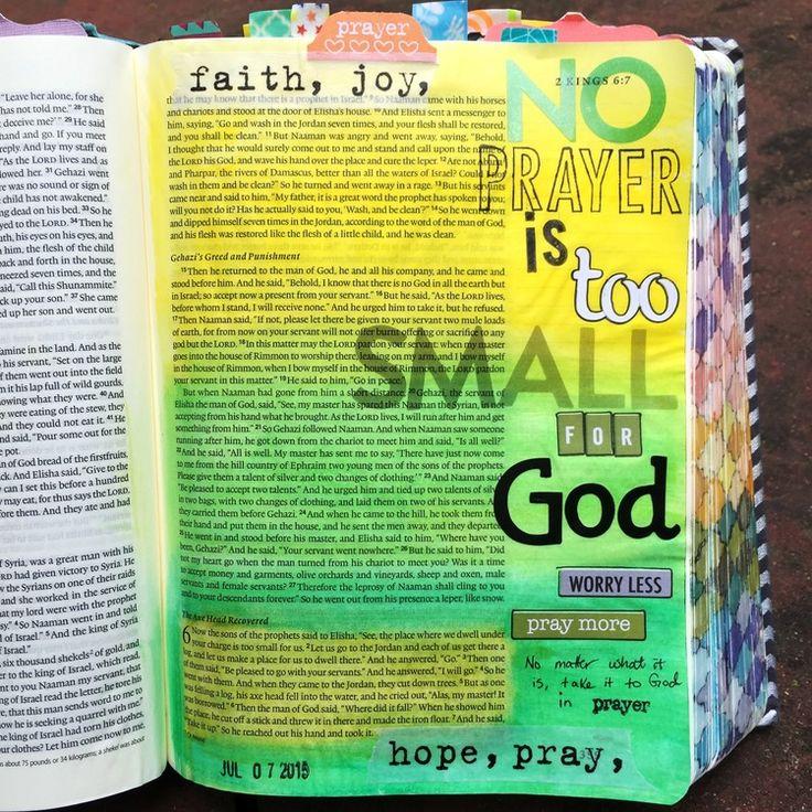 Bible journaling, 2 Kings 6:1-7 — Arden Ratcliff-Mann #illustratedfaith