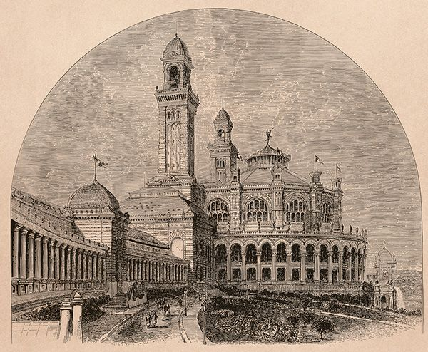 Paris. Ancien palais du Trocadéro on Behance