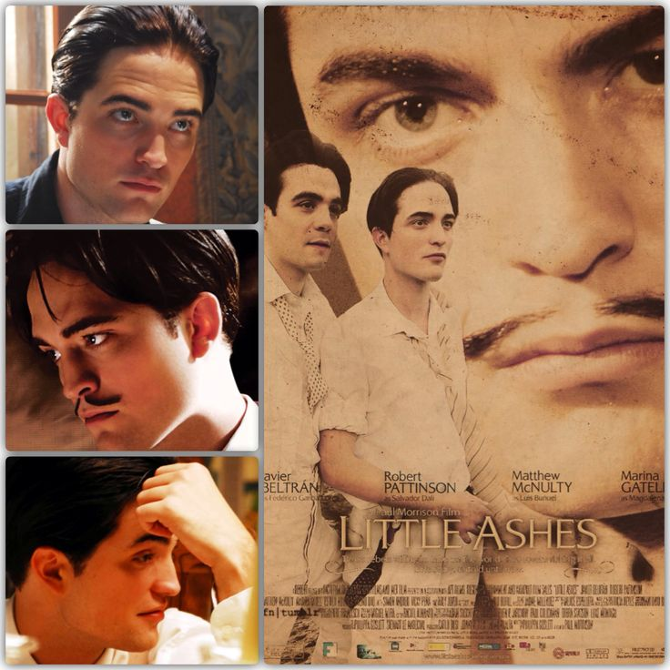 """Robert Pattinson portrays the character of the late/great artist Salvador Dali in the movie """"Little Ashes""""......."""