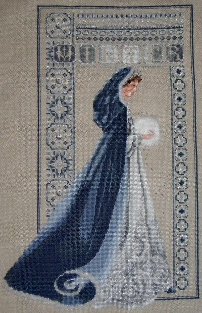 explore this colour scheme for Lavender and Lace's Winter pattern for ideas...