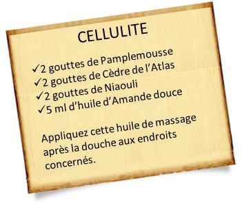 cèdre de l'atlas et cellulite