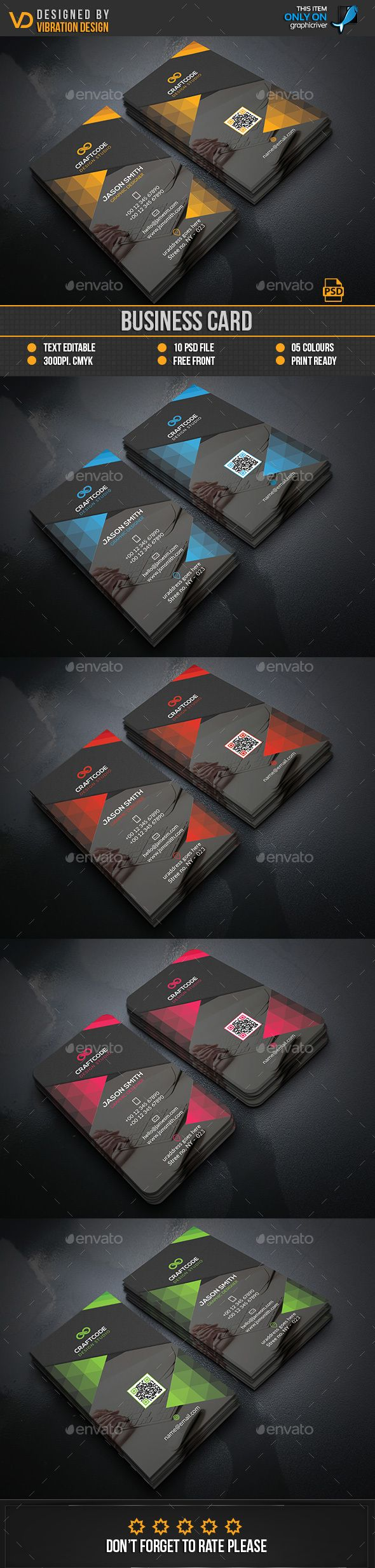 36 best Design Resources - Business Card Designs images on ...