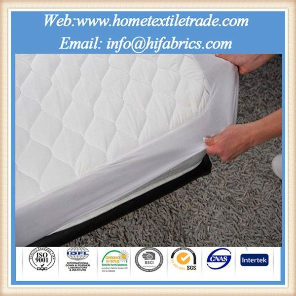 Premium Terry Towelling Wateproof Mattress Protector Hospital And Hotel Using Detachable Washable In