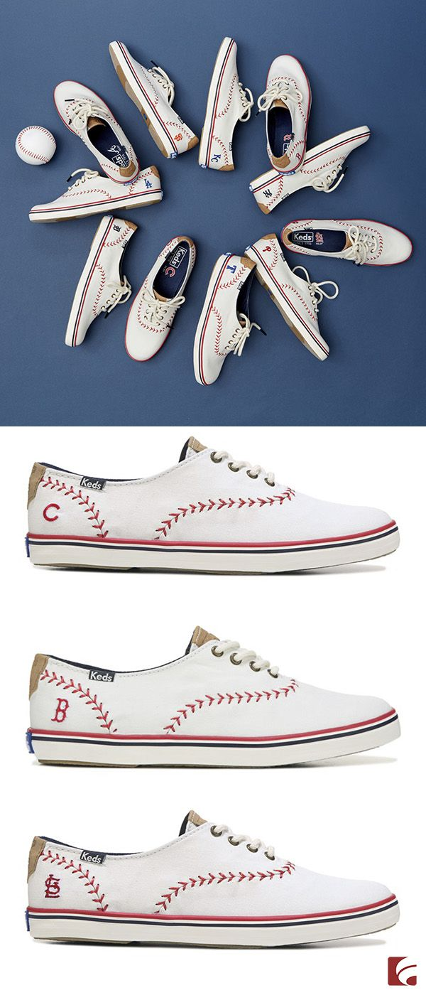 This baseball season, Keds hits it out of the park! Featuring your favorite MLB team's logo, these sneakers are perfect for wearing to games…and absolutely everywhere else. Grab a pair and root, root, root for your home team!
