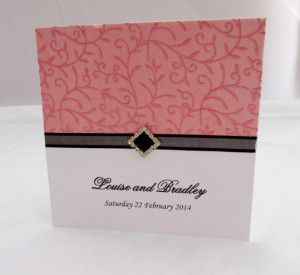Invite_Square_black diamond bling