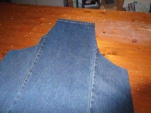 Denim Jeans to Apron Tutorial                                                                                                                                                                                 More