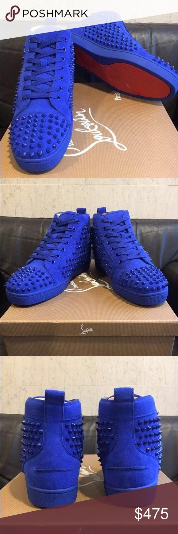 Men's Christian Louboutin Sneakers Brand new, bright and beautiful. Christian Louboutin Shoes Sneakers