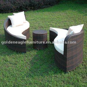 Outdoor Furniture:yin Yang Leisure Sofa(s0027)   Buy Outdoor Furniture,Patio
