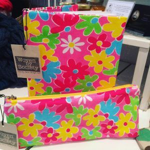 A beautiful bright stationery set - book cover and pencil case. Fun and bright for summer stories.