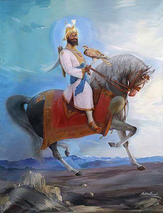 Guru Gobind Singh was born as Gobind Rai in Patna, Bihar in India. His father Guru Tegh Bahadur, was the ninth Sikh Guru. |  Sikhpoint.com