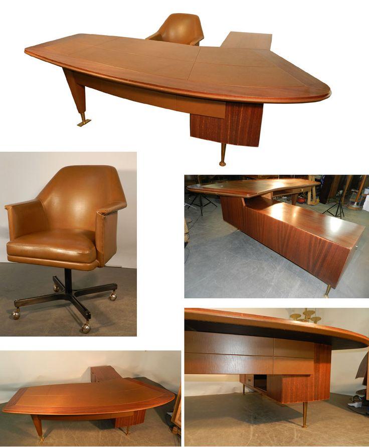 20 best bureaux design vintage images on pinterest design offices oak desk and surfboard wax. Black Bedroom Furniture Sets. Home Design Ideas