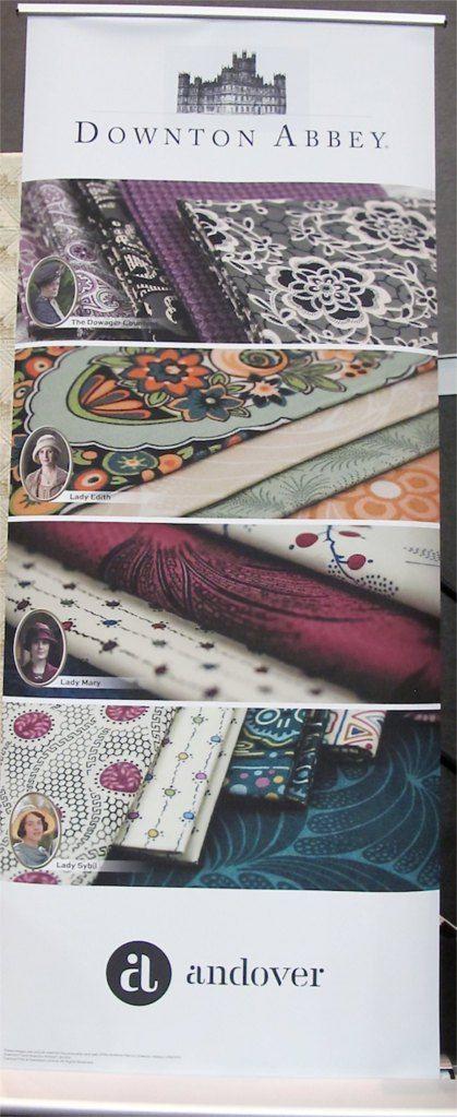 Downton Abbey Fabric Line!